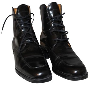 Tod's Leather Driving Heel Black Boots