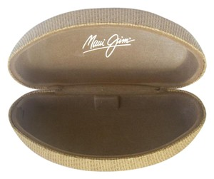 Maui Jim Maui Jim Sunglasses Hard Case Straw/Bamboo Finish