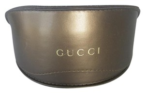 Gucci Gucci Sunglasses Gold Case Oversize Fashion Frame Case Only