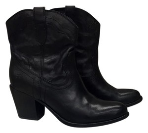 Frye Bootie Leather Black Boots