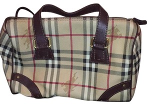 Burberry Satchel in Nova Check