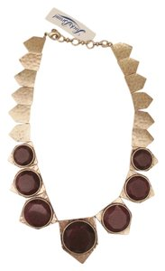 Lucky Brand 60% OFF! BRAND NEW Lucky Brand Gold Tone and Red Jade Collar Necklace
