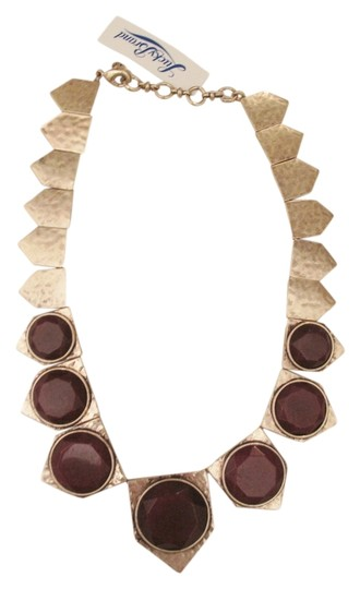 Lucky Brand 65% OFF! BRAND NEW Lucky Brand Gold Tone and Red Jade Collar Necklace
