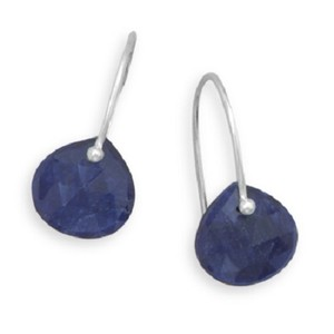 Other Sterling Silver Sapphire Earrings