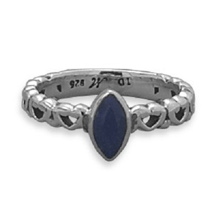 Other Sapphire Heart Band