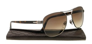 Gucci NEW Gucci GG2236/S W09JD Havana Ruthenium Aviator Men's Sunglasses