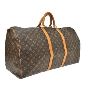 Louis Vuitton Keepall Keepall 60 L V Travel Neverfull Speed | Saumur Brown Travel Bag
