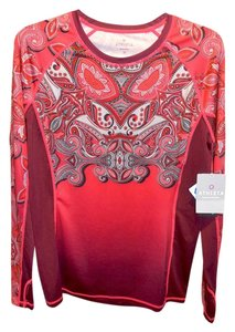 Athleta ATHLETA Long Sleeve COOL TOUCH Runaway Top M PLSV