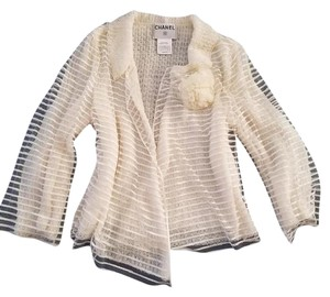 Chanel Jacket Open Front Cardigan