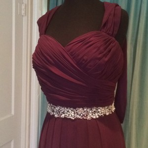Andrew Adela Plum Dress