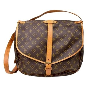Louis Vuitton Saumur Saumur 35 Neverfull Cross Body Bag