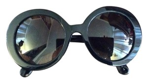 Prada Like New-PR 27NSA 1AB3M1 - PRADA Baroque Sunglasses Oversized Round