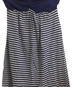 Express short dress Blue and white on Tradesy