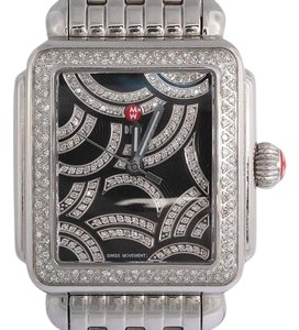 Michele Art of Deco Diamond Watch