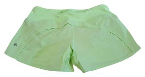 Lululemon Lululemon Run Times Shorts, Clear Mint, Size 4