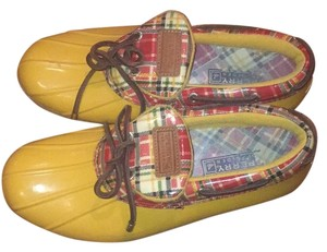 Sperry Yellow, red, brown, green Athletic