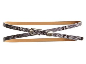 Banana Republic New skinny snakeskin belt size S