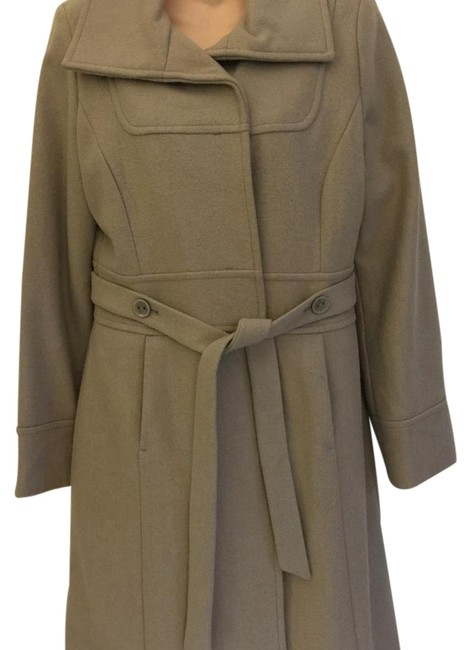 Preload https://item2.tradesy.com/images/mossimo-supply-co-taupe-long-trench-coat-size-8-m-1954211-0-2.jpg?width=400&height=650