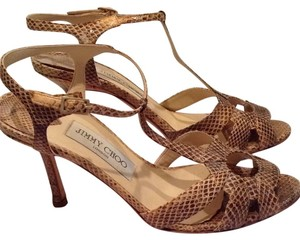 Jimmy Choo Snakeskin / neutral Pumps