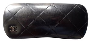 Chanel Chanel Sunglasses Case Quilted Blue