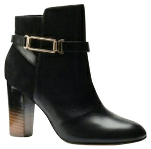 Isola Ankle Neptune Leather Black Boots