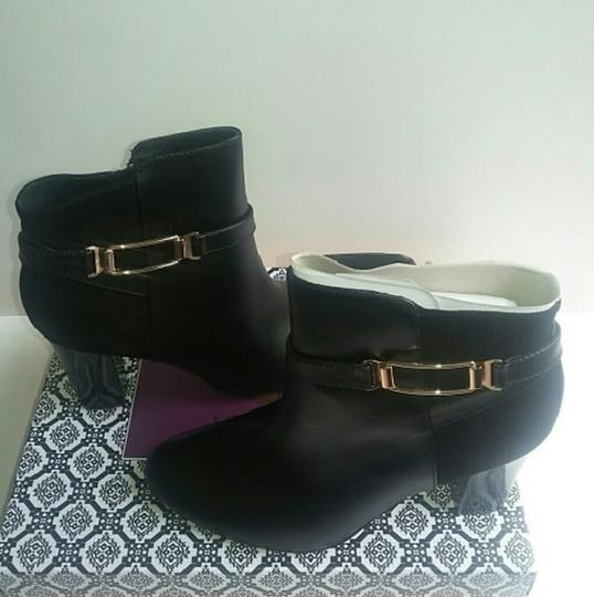 Isola Ankle Neptune Leather Black Boots Image 1
