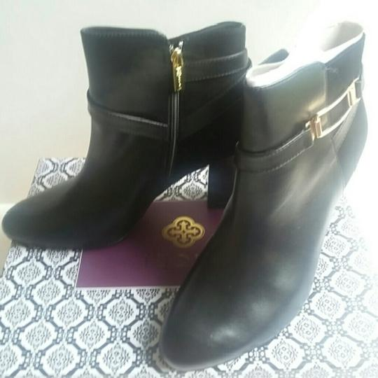 Isola Ankle Neptune Leather Black Boots Image 2