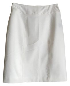 Worthington Pencil Skirt White/Off-White