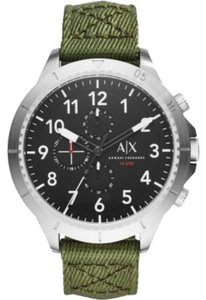 A|X Armani Exchange Armani Exchange Men's Aeroracer Analog Quartz Green Watch AX1759