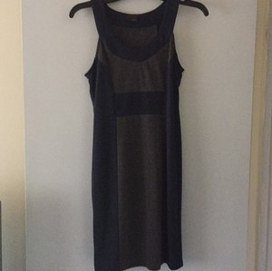 Lush short dress Navy Blue & Gray Bodycon Stretchy Urban on Tradesy