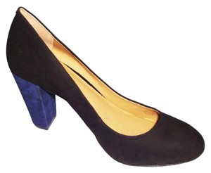 Ann Taylor black /blue Pumps