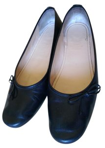 Faonnable Leather Dressy Black Flats