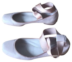 Chlo Light pink leather Flats