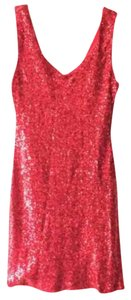Crystal Doll short dress Red on Tradesy