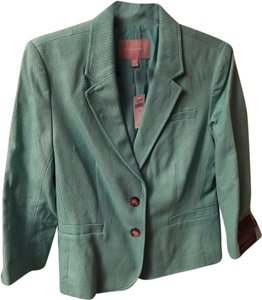 Banana Republic New With Tag Nwt Spring Jacket Lightweight Jacket Green Blazer