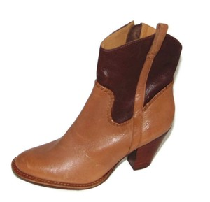 Jack Rogers Ryan Western Oak Brown Boots