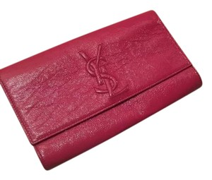 ysl clutch patent leather Clutch