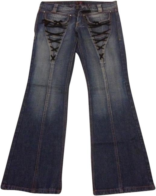Other Medium 40 28 Flare Leg Jeans-Medium Wash