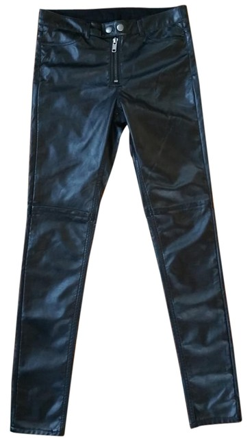 Preload https://img-static.tradesy.com/item/19542720/h-and-m-black-faux-leather-skinnies-skinny-pants-size-6-s-28-0-1-650-650.jpg