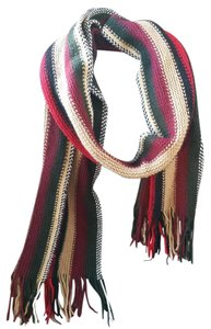 Fall Weave ox blood scarf