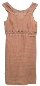 Calypso St. Barth short dress Tan on Tradesy