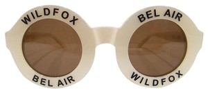 Wildfox WildFox Bel Air Sunglasses PEARL WHITE Authentic New