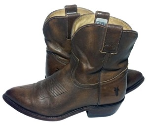 Frye 77815 Billy Billy Short Cowgirl 6.5 Size 6.5 Brown Boots