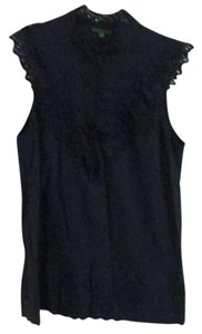 Tibi Top Navy blue