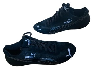 Puma Black Suede Athletic