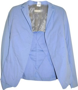 Burberry Prorsum Vintage Runway Made In Italy Handmade Blue Blazer