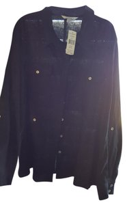Conrad C Button Down Shirt Black