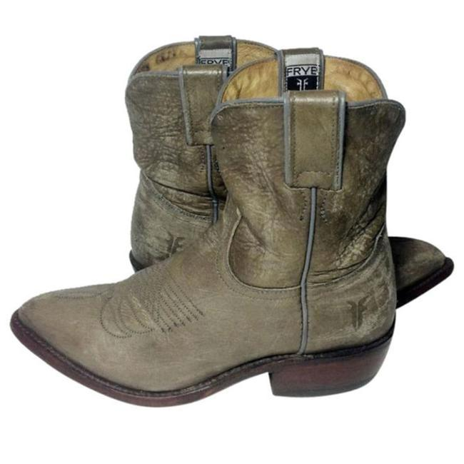 Item - Khaki 77815 Billy Short Leather Cowgirl Women's Boots/Booties Size US 6 Regular (M, B)