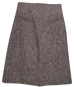 Rebecca Taylor Fall Skirt Black and white tweed