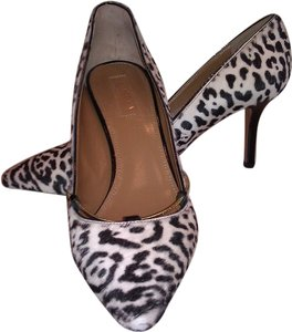 Aquazzura Calf Hair Fur Animal Print Pumps